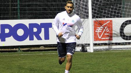 Dimitri Payet jalani latihan di Olympique Marseille. - INDOSPORT