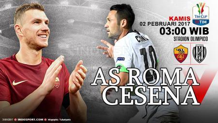 Prediksi AS Roma vs Cesena. - INDOSPORT