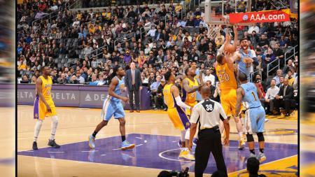 Los Angeles Lakers vs Denver Nuggets. - INDOSPORT