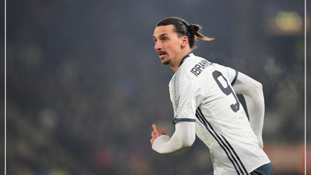 Zlatan Ibrahimovic kembali akan menjadi cadangan Jose Mourinho. - INDOSPORT