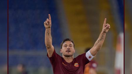 Francesco Totti. - INDOSPORT