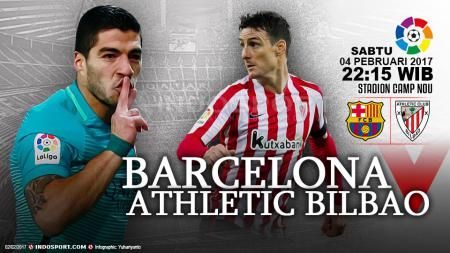Prediksi Barcelona vs Athletic Bilbao. - INDOSPORT