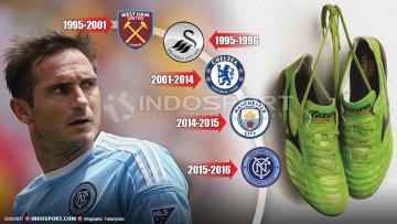 Frank Lampard memutuskan untuk gantung sepatu dari sepakbola.