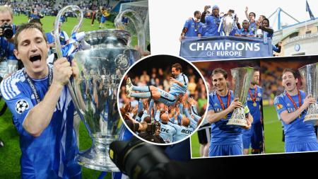 Frank Lampard resmi pensiun dari dunia sepakbola di usia 38 tahun. - INDOSPORT