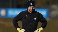 Indosport - Samir Handonovic, kiper Inter Milan.
