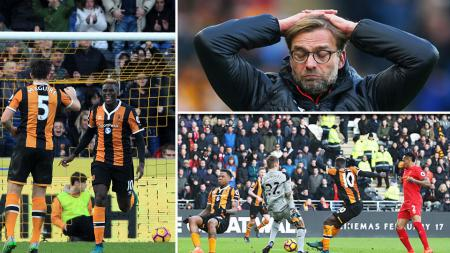Hull City vs Liverpool. - INDOSPORT