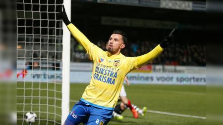 Stefano Lilipaly dalang kemenangan Cambuur atas NAC Breda. - INDOSPORT