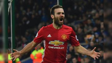 Juan Mata, gelandang serang Man United.
