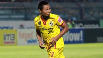Penggawa Sriwijaya FC, Muhammad Ridwan.