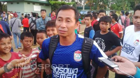 Asisten Pelatih PSM Makassar, Imran amirullah. - INDOSPORT