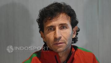 Pelatih Timnas Senior dan U-22, Luis Milla.