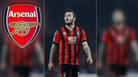 Jack Wilshere, playmaker AFC Bournemouth yang dipinjam dari Arsenal. - INDOSPORT