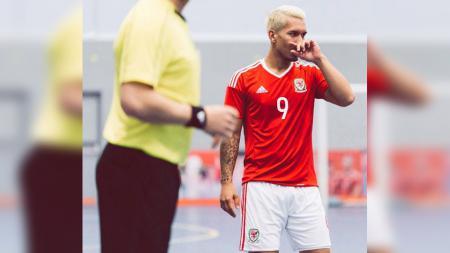 Pemain Timnas Futsal Wales, Rico Zulkarnain. - INDOSPORT