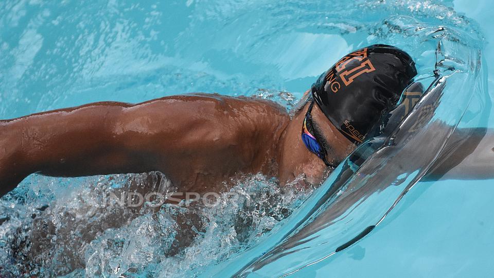 (GALERI FOTO) Mengintip Pelatnas Atlet Renang SEA Games