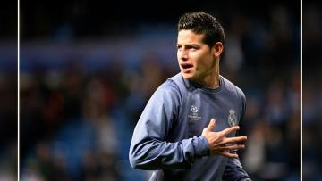 Gelandang serang Real Madrid, James Rodriguez.