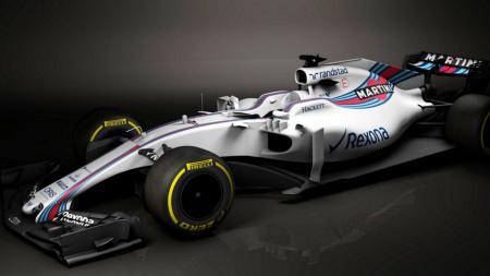 Mobil Williams Martini Racing Formula 1. - INDOSPORT