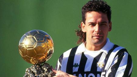 Roberto Baggio meraih ballon d'or era 1993. - INDOSPORT