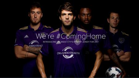 Orlando City resmi meluncurkan jersey kandang. - INDOSPORT