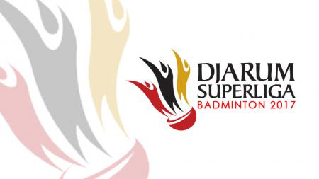 Logo Djarum Superliga Badminton 2017. - INDOSPORT