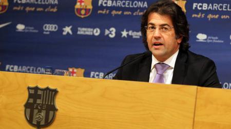 Antoni Freixa Martin, mantan direktur Barcelona. - INDOSPORT