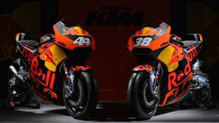 Motor baru tim KTM. - INDOSPORT
