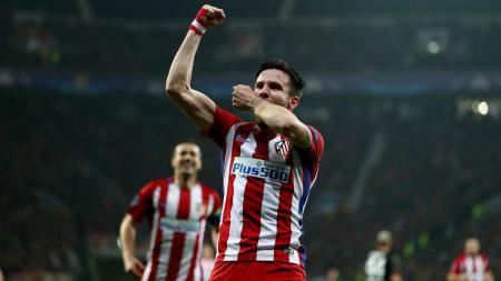 Kevin Gameiro pahlawan kemenangan Atletico Madrid. - INDOSPORT
