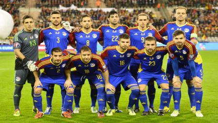 Andorra memutus rentetan tanpa kemenangan selama 21 tahun di Kualifikasi Euro dengan mengalahkan Moldova 1-0, Jumat (11/10/19). - INDOSPORT