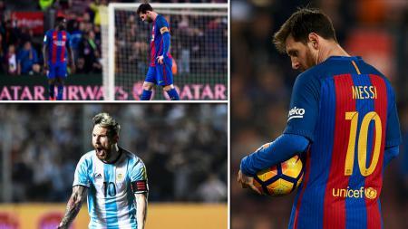 Bintang Barcelona dan Tim Nasional Argentina, Lionel Messi. - INDOSPORT