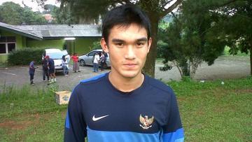 Bek kiri Timnas Indonesia U-22 dan Sriwijaya FC, Zalnando.