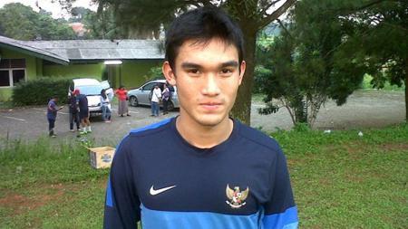 Bek kiri Timnas Indonesia U-22 dan Sriwijaya FC, Zalnando. - INDOSPORT