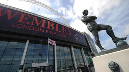 Stadion Wembley. - INDOSPORT