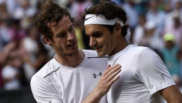 Andy Murray dan Roger Federer.