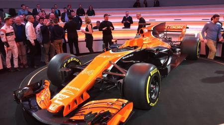 Tampil baru mobil Formula 1 McLaren. - INDOSPORT