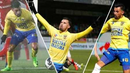 Gelandang SC Cambuur, Stefano Lilipaly. - INDOSPORT