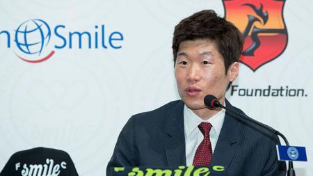 Mantan pemain Manchester United, Park Ji-sung. - INDOSPORT