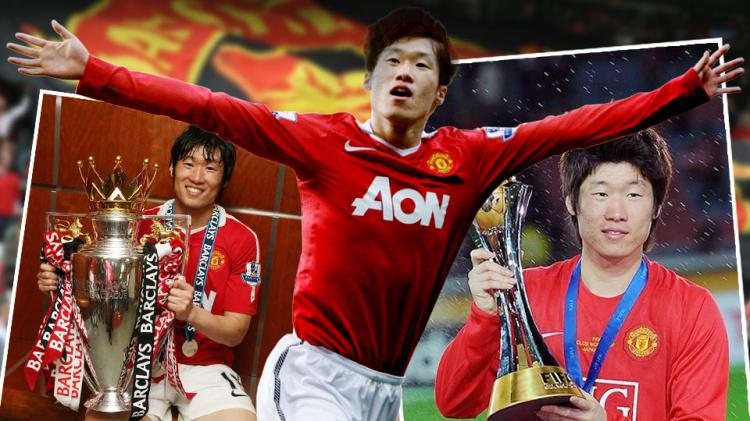 Park Ji-Sung. Copyright: Grafis: Eli Suhaeli/INDOSPORT/Getty Images