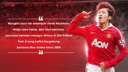Mantan gelandang Manchester United, Park Ji-Sung. - INDOSPORT