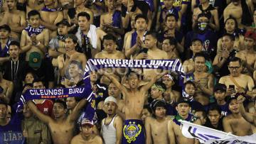 Para Bobotoh antusias menyambut bergulirnya Liga 1 Indonesia.