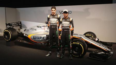 Force India kembali tampil di kancah Formula 1 musim 2017. - INDOSPORT