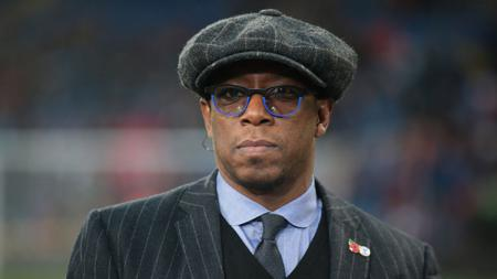 Legenda Arsenal, Ian Wright. - INDOSPORT