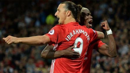 Zlatan Ibrahimovic menyarankan Manchester United untuk menjual Paul Pogba. - INDOSPORT