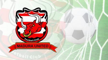 Logo klub Liga 1, Madura United. - INDOSPORT