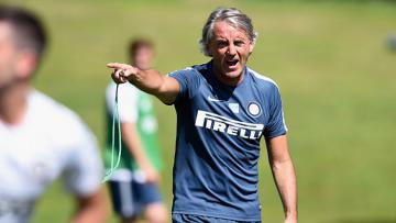 Roberto Mancini saat masih melatih Inter Milan.