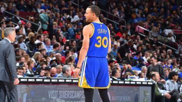 Bintang Golden State Warriors, Stephen Curry.