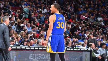 Bintang Golden State Warriors, Stephen Curry. - INDOSPORT