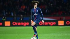 Indosport - Gelandang Paris Saint-Germain, Adrien Rabiot.
