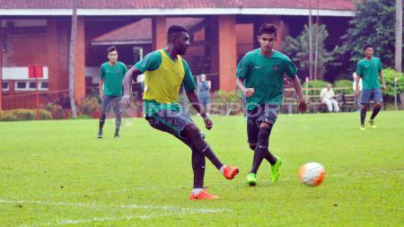Yanto Basna absen di latihan Sriwijaya FC. - INDOSPORT