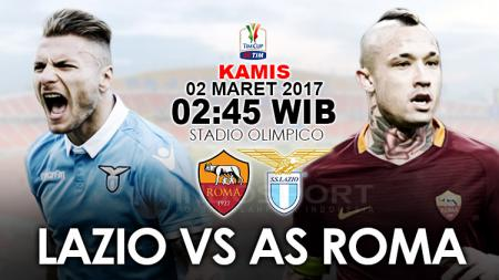 Prediksi Lazio vs AS Roma. - INDOSPORT
