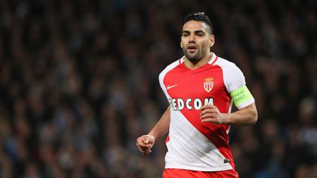Penyerang As Monaco, Radamel Falcao. - INDOSPORT