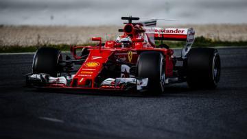 Kimi Raikkonen kembali finish tercepat di hari terakhir tes pramusim perdana.